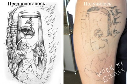 russian tattoo. Russian Tattoo Fail