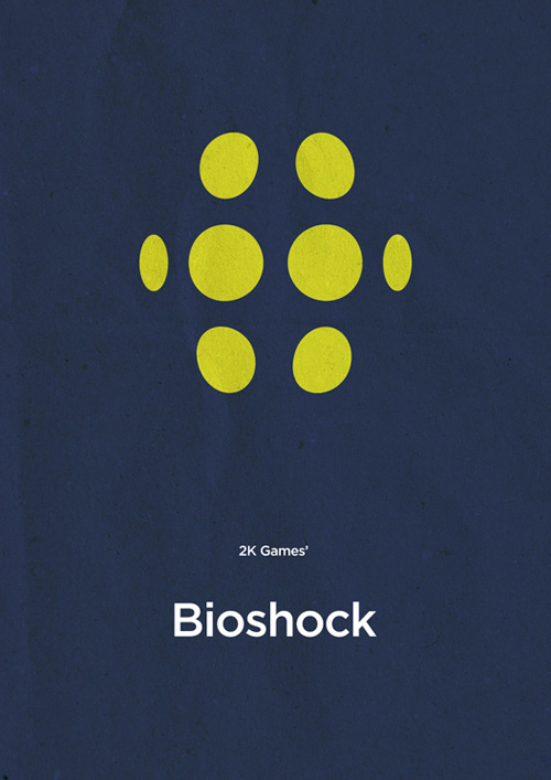 Foyer Minimalist Game : Awesome minimalist video game posters by boris lechaftois