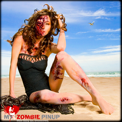 My Zombie Pin-Ups 2010: Where