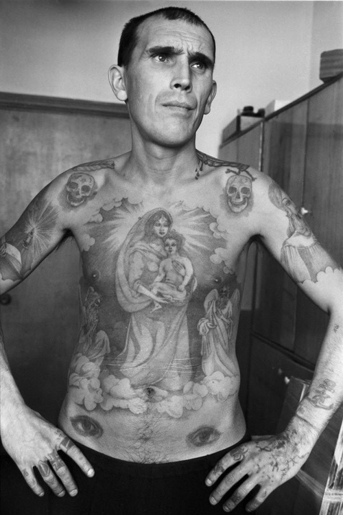 Marked men russian prison tattoos onelargeprawn for Russian criminal tattoo encyclopedia