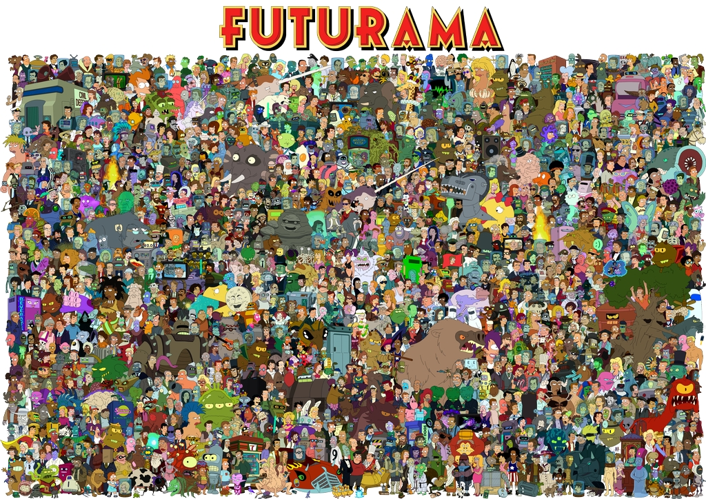 the_cast_of_futurama_by_unrellius_small