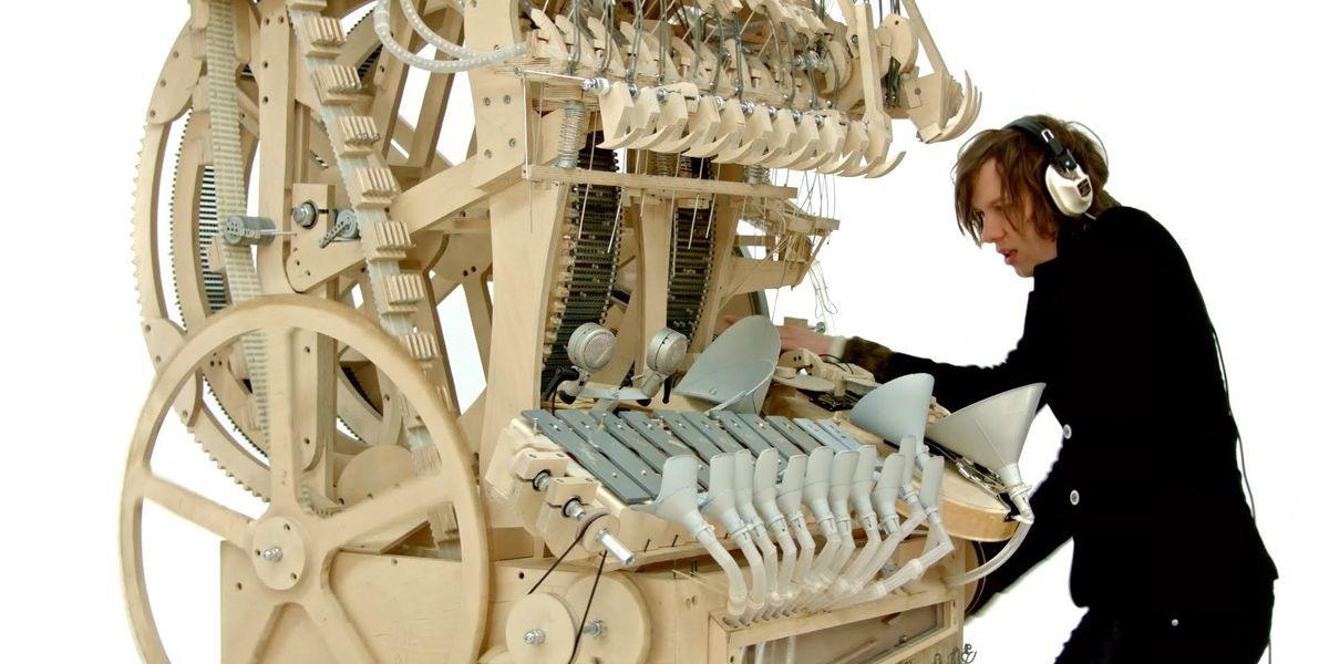 Wintergartan marble machine