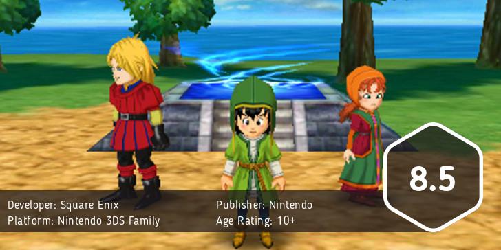 Dragon Quest VII score