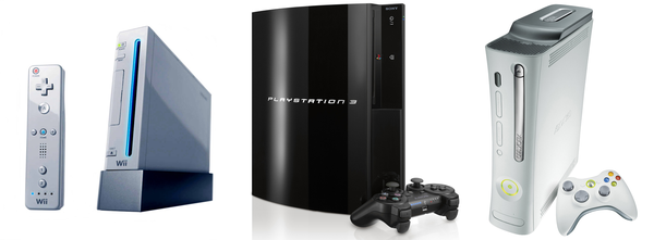 Gaming Consoles, A Happy Family