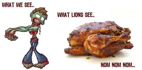 Zombies vs Lions