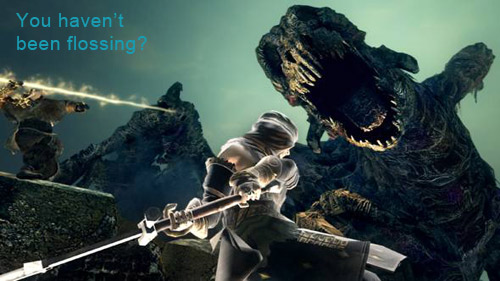Dark Souls - Flossing