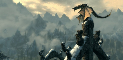 Skyrim Dragons