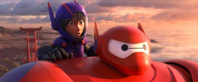 """BIG HERO 6"" Pictured (L-R): Hiro & Baymax. ©2014 Disney. All Rights Reserved."