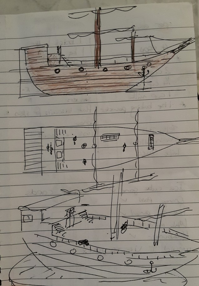 Ship concept drawing