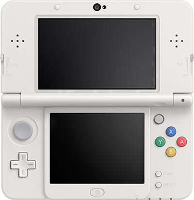 New Nintendo 3DS - open screens