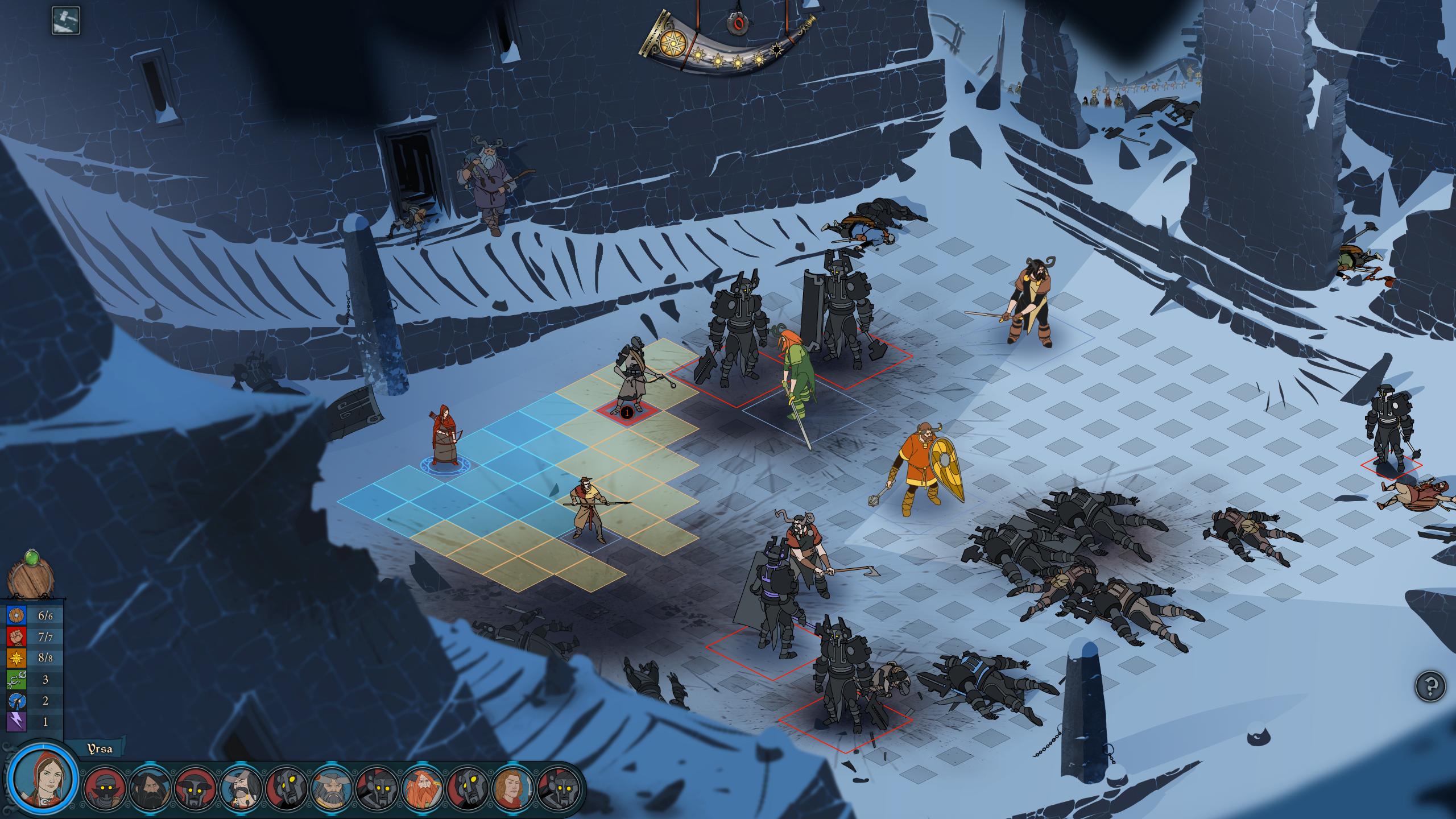 The Banner Saga: Battle Screen 2