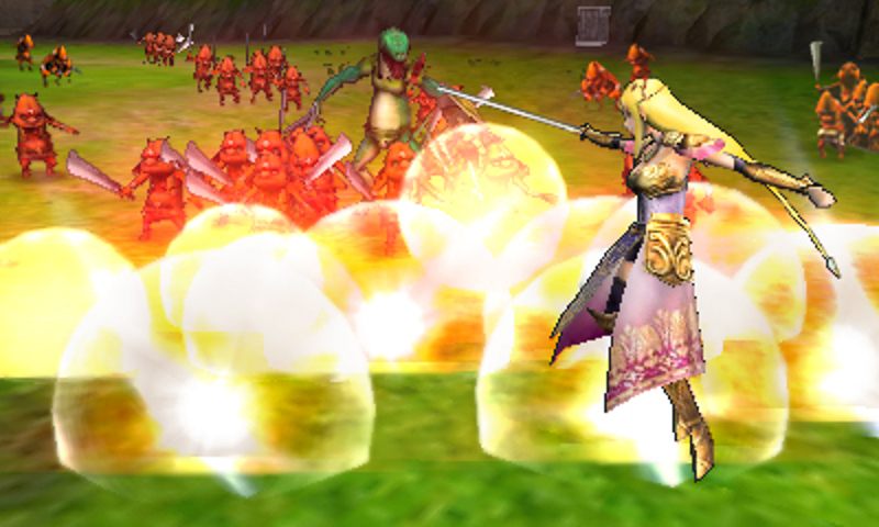 Hyrule Warriors Legends screenshot: Zelda