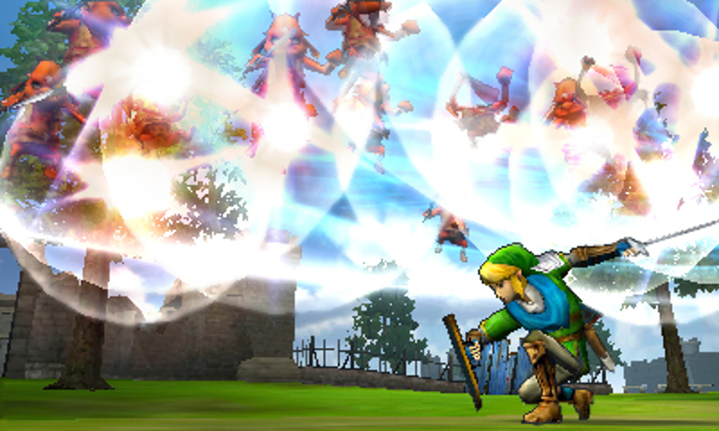 Hyrule Warriors Legends screenshot: Link