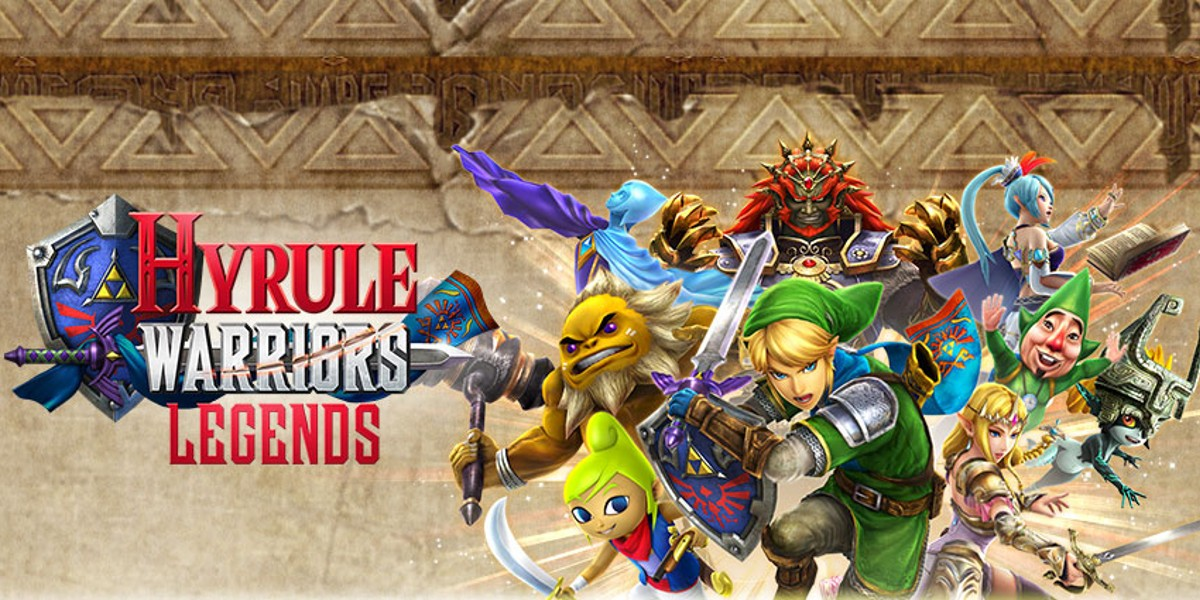 Hyrule Warriors Legends Banner image