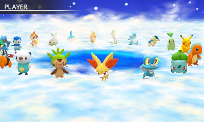 Pokemon Super Mystery Dungeon: Starting Roster