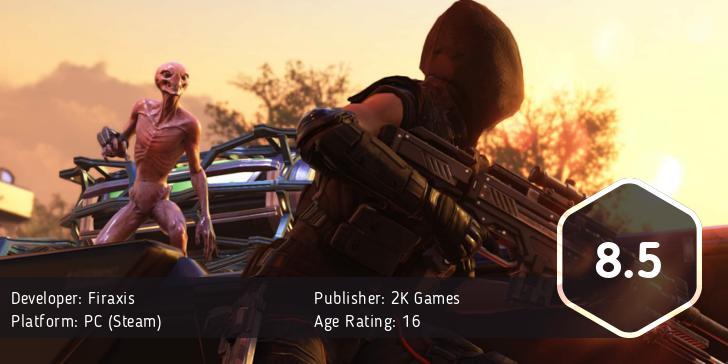 XCOM 2 score: 8.5/10