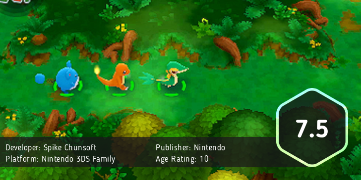 Pokemon Super Mystery Dungeon Score: 7.5 out of 10