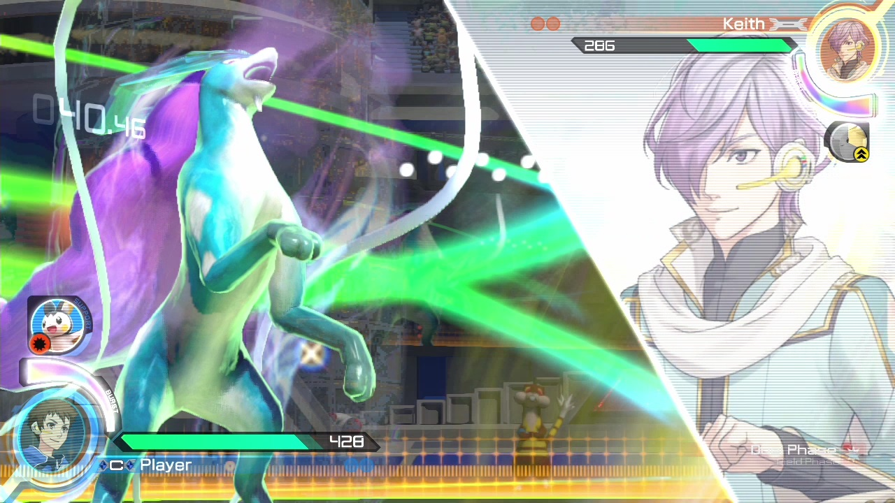 Pokken Tournament screenshot: Character Selection
