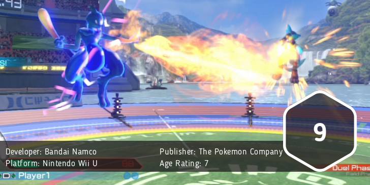 Pokken Tournament Score: 9/10
