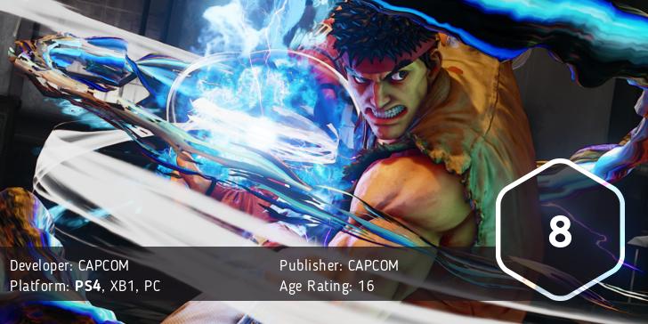 Street Fighter V Score: 8/10