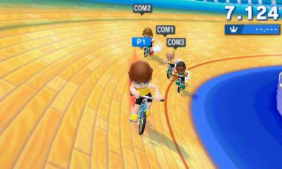 Mario & Sonic at the 2016 Olympic Games: cycling