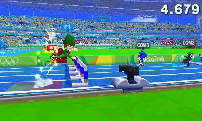 Mario & Sonic at the 2016 Olympic Games: hurdles