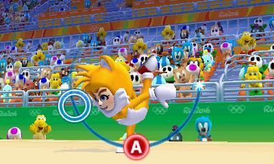 Mario & Sonic at the 2016 Olympic Games: rhythmic gymnastics