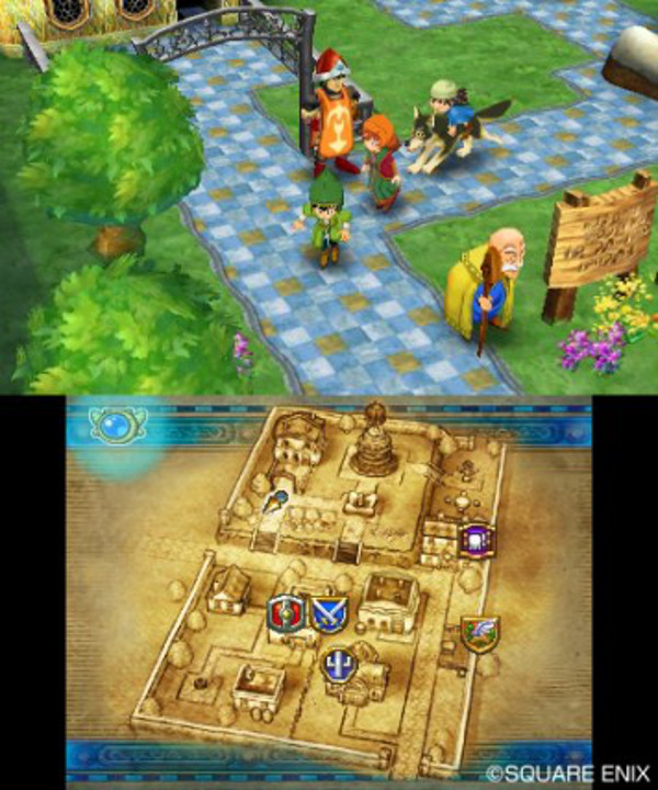 Dragon Quest VII screenshot