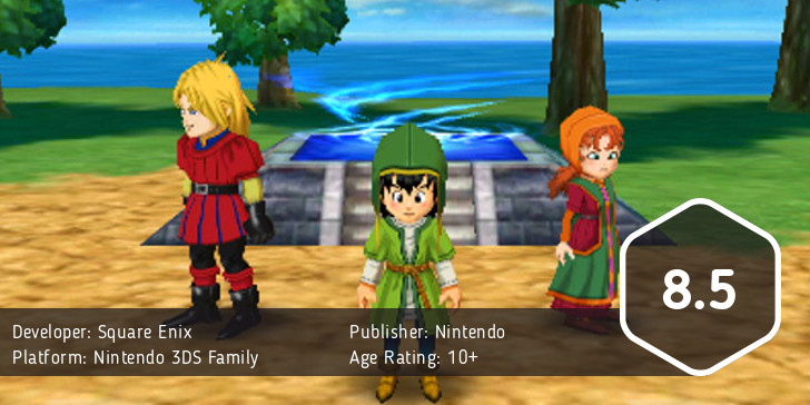 Dragon Quest VII score