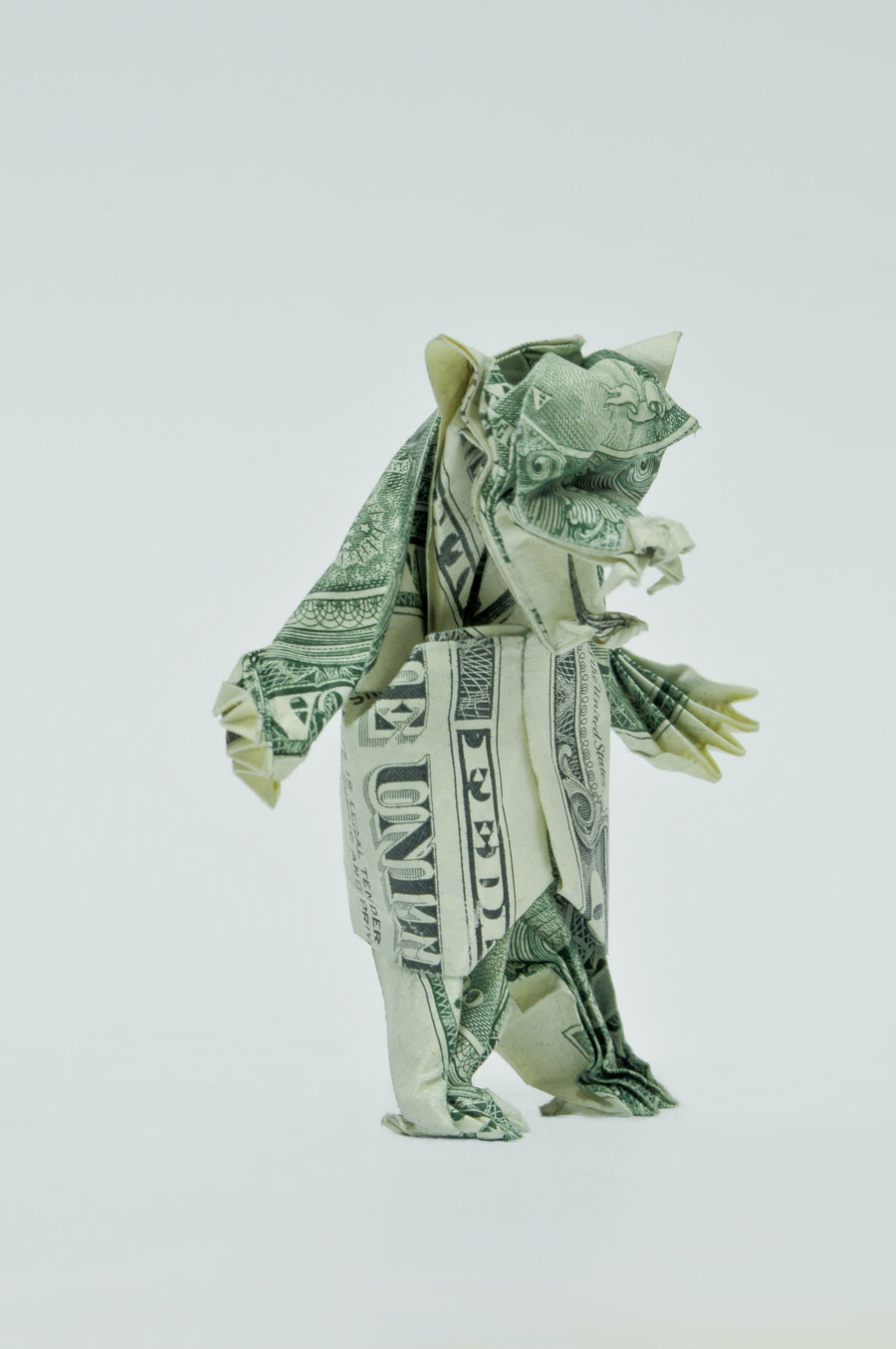 Dollar Origami Koi Fish Great Gift Idea Animal Made From Real Mon ... | 1355x900